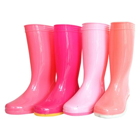 Chinese Colorful Women Sex Rubber Boots Design Rubber Wellington .
