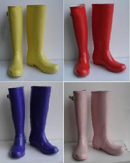 China 2020 Various Wellington Boots, Women Rubber Boots, Vogue .