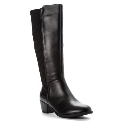 Propét Talise - Women's Comfort Wide Calf Knee High Boot | Flow .