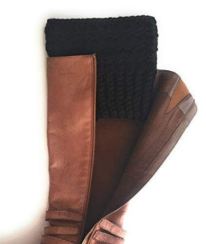 Amazon.com: Extra Wide Calf Boot Cuffs for Women Peruvian Wool .