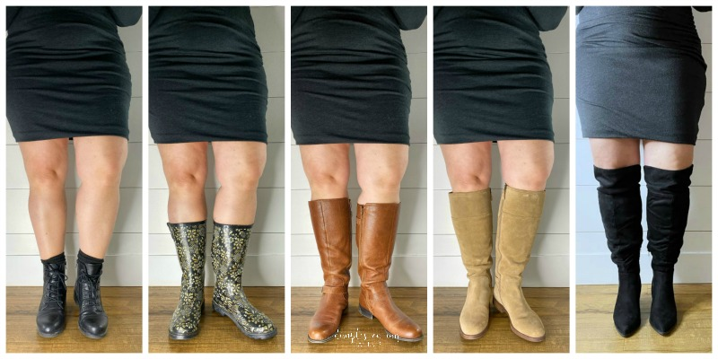 The Best Wide Calf Boots for Curvy Women - dimplesonmywh