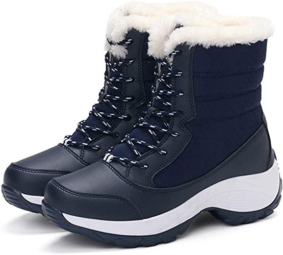 Amazon.com | Xiakolaka Women Winter Boots Waterproof Snow Sneaker .