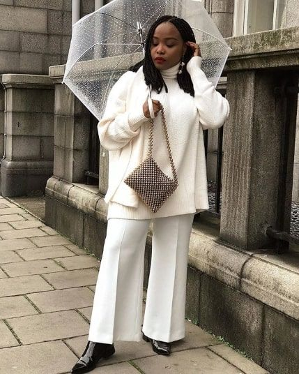 15 All-White Winter Outfits That Are Anything But Boring | Who .