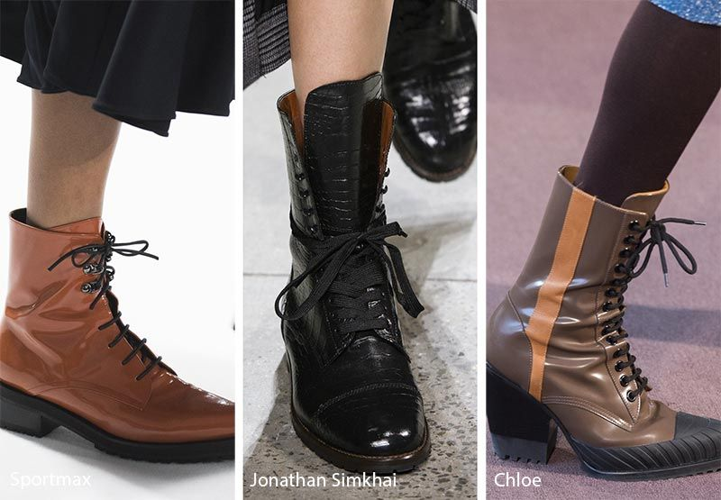 Fall/ Winter 2018-2019 Shoe Trends | Trending shoes, Trending .