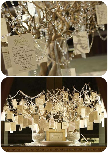 Unique Wedding Idea – Wishing Tree Guest Book – A Wedding Bl
