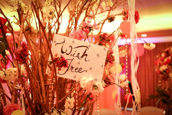 Wishing Tree' Ideas for your Reception / Engagement ! | WedMeGo