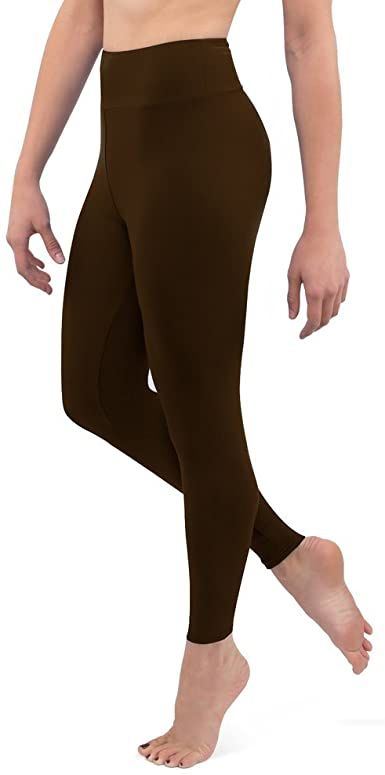 Posh by Anna Ultra Soft Double Brushed Women's Leggings with .