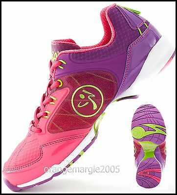 ZUMBA Flex Classic SHOES Trainers DANCE!! w ZSlide-Impact Max .